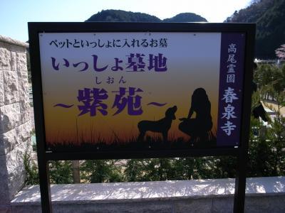 高尾霊園犬猫墓地